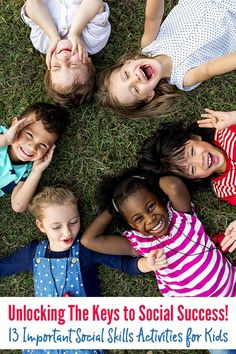 Social confidence, friendship skills, self esteem, communication skills - we all want our children to succeed socially. This collection of social skills activities for kids of all ages will help you to help them achieve that goal.