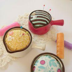 Diy Pins, Sewing Kit, Pin Cushions, Make It Simple, Recipes, How To Make, Handmade, Crafts, Ideas