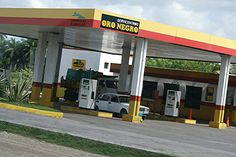 """Oro Negro #GasStations in #Cuba are littered all over the island, aptly meaning """"Black Gold"""" the #servicestations provide 3 types of fuel. Diesel, 90 octane gas and 95 octane gas. www.AllAboutCuba.com"""