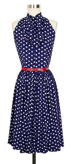 The Trashy Diva Street Car Dress is back and better than ever in the Big Polka Print!