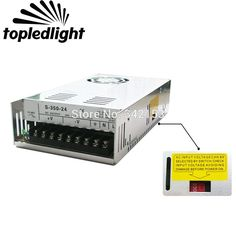 DC24V 14.6A 350W Universal Regulated Switching Power Supply Portable Lighting Accessories For CCTV Cameras Home Appliances