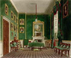 Buckingham palace bedrooms queens bedroom at buckingham for Buckingham choice floor plans