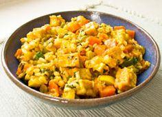 Cashew Veggie Fried Rice a.k.a 'The Rice Dish'    Nutritious, Delicious Gluten Free Vegan Casserole Recipe
