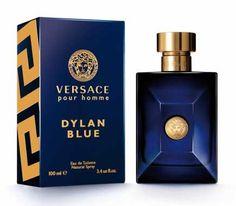 Profumo Uomo Versace Pour Homme Dylan Blue Eau de Toilette EDT 100 ml Perfume Azul, Blue Perfume, Perfume Oils, Perfume Bottles, Perfumes Versace, Hermes Perfume, Versace Fragrance, Best Fragrance For Men, Best Fragrances