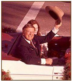 Grand Marshal of the 1973 Rose Parade - Pasadena, California