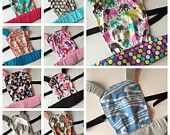Toddler Gift Ideas - CUSTOM Baby Doll Carrier - Mini Tula - Mini Kinderpack - Toddler/Small Child Doll Carrier - You pick fabric!