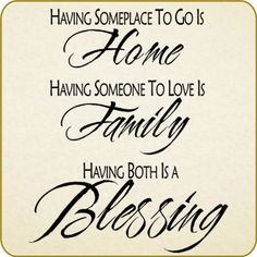 Family Quotes and Sayings | Family Love Home Vinyl Wall Quote Saying Decals Stickers Removable ...