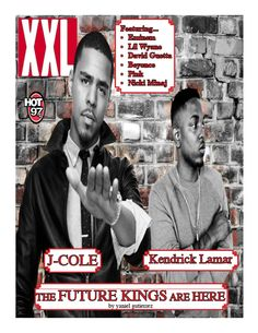 my cover for hot 97 magazine Hot 97, J Cole, David Guetta, Kendrick Lamar, Beyonce, Magazine, Baseball Cards, Cover, Fictional Characters
