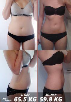8 kg súlycsökkenés előtte és utána a legjobb fogyókúrás étkezések