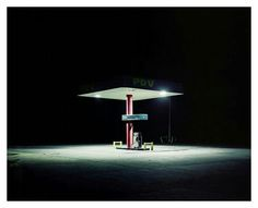 Petrol Station, Venezuela 2007 by Ambroise Tézenas Urban Photography, Night Photography, Color Photography, Street Photography, Inspiration Artistique, Pics Art, Night Photos, Nocturne, Neon Lighting