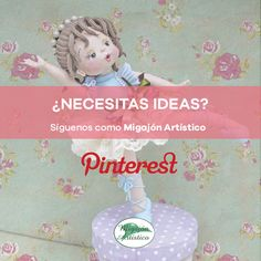 Si necesitas inspiración y no sabes donde encontrarla, te invitamos a visitarnos en Pinterest, ahí encontraras maravillosas ideas que tu misma podrás hacer. #MigajonArtistico