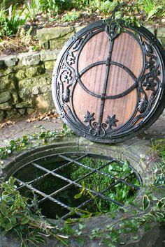Chalice Well in Glastonbury, Somerset, England