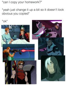 Roy and Shiro << I thought about this comparison the moment I learned about the clone theory