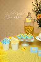 A splash of water And hint of color We are celebrating a baby With a Rubber Ducky shower!     The Rubber Ducky theme is absolutely adorable ...