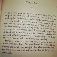 & home is where the heart is! #Henri_Nouwen #home #love