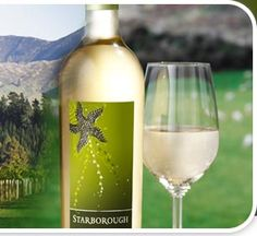 Starborough Sauvignon Blanc, Marlborough New Zealand. Grapefruit explosion. Favorite wine for a hot summer day