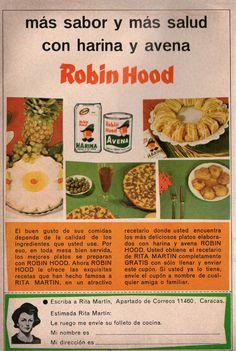 Harina Robin Hood. Ad from 1967.