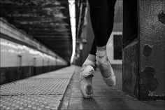 Ballet in the subway station