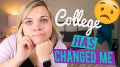 COLLEGE HAS CHANGED ME 😟 - Candid Cassie // SoCassie