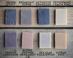 Handmade Soap Sampler by Craftsman Soap Co.