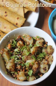 YUMMY TUMMY: Gujarati Potatoes Recipe - Batata Chi Bhaji Recipe