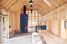Naust V boathouse by Koreo Architects and Kolab Architects