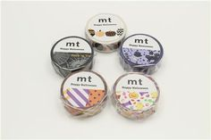 mt Washi Masking Tape colorful deco tape dot stripe Happy Halloween 3