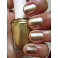 The Queen of the Nail Essie Mirror Metallics 'Good As Gold' Nail Polish