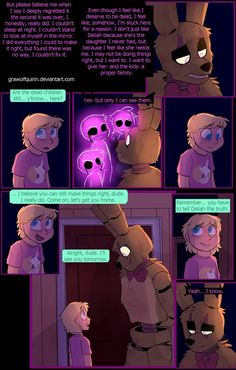 Delilah and springtrap page  97