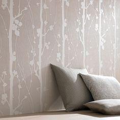 Solitude Beige Wallpaper, , large