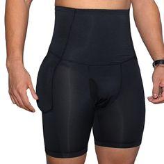 d5e40040b3c High Waist Slimming Underwear Body Shaper Butt Lifting Compress Legging  Shapewear for Men