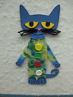 Flannel Fridays  Read It Again!: Flannel Friday: Pete the Cat and his popping buttons