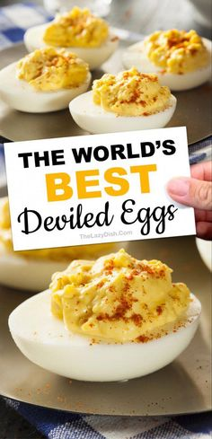 deviled eggs - deviled eggs _ deviled eggs recipe best _ deviled eggs recipe _ deviled eggs easy _ deviled eggs recipe best easy _ deviled eggs recipe best pioneer woman _ deviled eggs classic _ deviled eggs no mayo Devilled Eggs Recipe Best, Best Deviled Eggs, Deviled Eggs Recipe With Vinegar, Classic Deviled Eggs, Deviled Eggs Recipe With Dry Mustard, Develed Eggs Recipe, Deviled Eggs Recipe Pioneer Woman, Hard Boiled Eggs Recipe, Best Deviled Egg Recipe Ever