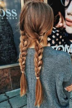 Easy Hairstyles Curly How To Get is part of Easy Hairstyles For Naturally Curly Hair Ouai - Super hair braids messy plaits Ideas Pretty Braided Hairstyles, Messy Hairstyles, Pretty Hairstyles For School, Casual Hairstyles For Long Hair, Hair Styles For Long Hair For School, Hair Ideas For School, Popular Hairstyles, Easy College Hairstyles, Hairstyles Tumblr