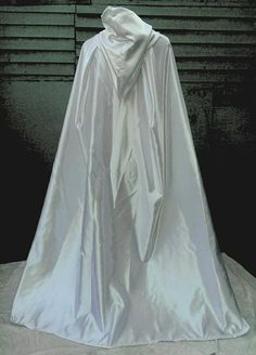 High Quality BRIDAL SATIN cloak. Wedding by FrostingClothingCo