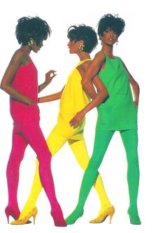 THE REAL SUPERMODELS!!!! Naomi Campbell, Christy Turlington, Linda Evangelista, per Gianni Versace,