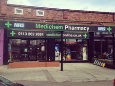 Take a look at the eye catching perspex signage we produced for Medichem Pharmacy!