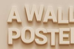 A subtle and beveled psd text effect to create a smart text effect. Ideal to illustrate your poster or flyer design...