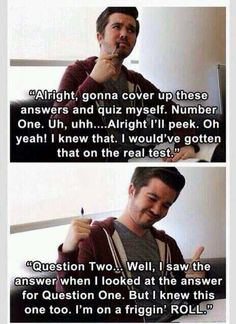 Me studying for finals - Imgur