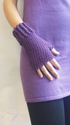 PDF by vivartshop on Etsy Fingerless Gloves Crochet Pattern, Crochet Beanie Hat, Fingerless Gloves Knitted, Crochet Mittens, Crochet Hooks, Crochet Baby, Knit Crochet, Beanie Hats, Crochet Hand Warmers