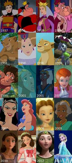 Disney and Pixar Queens. Learn your movies people Disney Pixar, Walt Disney, Disney Animation, Disney Facts, Disney Girls, Disney And Dreamworks, Disney Love, Disney Magic, Disney Stuff