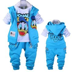 4Color 2017 Donald Boys&Girls Clothes set Baby Baby Girls Cartoon Cottom Clothing set,Kids Spring&Autumn 3Pcs Sport Clothes suit //Price: $20.98 & FREE Shipping //     #newin    #love #TagsForLikes #TagsForLikesApp #TFLers #tweegram #photooftheday #20likes #amazing #smile #follow4follow #like4like #look #instalike #igers #picoftheday #food #instadaily #instafollow #followme #girl #iphoneonly #instagood #bestoftheday #instacool #instago #all_shots #follow #webstagram #colorful #style #swag…
