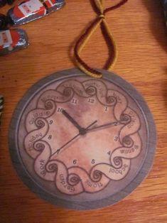 Mrs. Weasley's Clock ornament