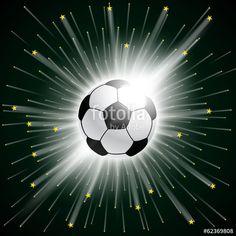 Vektor: fussball stars
