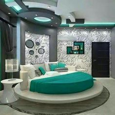 20 Modern Bedroom Design Ideas For a Perfect Bedroom - Decor Units Bedroom False Ceiling Design, Bedroom Furniture Design, Modern Bedroom Design, Master Bedroom Design, Modern Room, Bedroom Designs, Modern Bedrooms, Master Bedrooms, Bedroom Sets