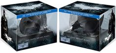 The Dark Knight Rises Limited Edition Blu-ray with Broken Bat Cowl