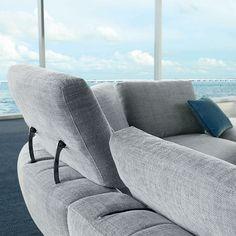 Bel Air, Tool Design, 3d Design, Ora Ito, Printed Concrete, Conception 3d, Scandinavian Sofas, Smooth Lines, Modular Sofa