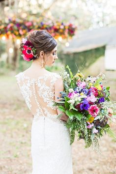 Photographer: Magnolia Photography | Event Venue: Sunnyside Plantation | Cinema and Video: Stan Weddings and Video | Makeup Artist: Beautiful Salon and Spa | Dress Store: The Dressing Room | Floral Designer: RSG Event Designs | Submitted via Two Bright Lights Summer Wedding Decorations, Summer Wedding Bouquets, Summer Wedding Colors, Wedding Gowns, Summer Weddings, Bridal Gowns, Wedding Flowers, Enchanted Garden Wedding, Summer Wedding Hairstyles