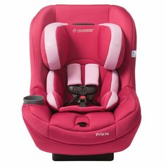 Maxi Cosi Pria 70 2015/2016 Convertible Car Seat Sweet Cerise$199 on sale at pishposhbaby