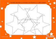 Fisa didactica pentru orientarea in spatiu cu steluțe Fisa cu stelute pentru orietarea in spatiu